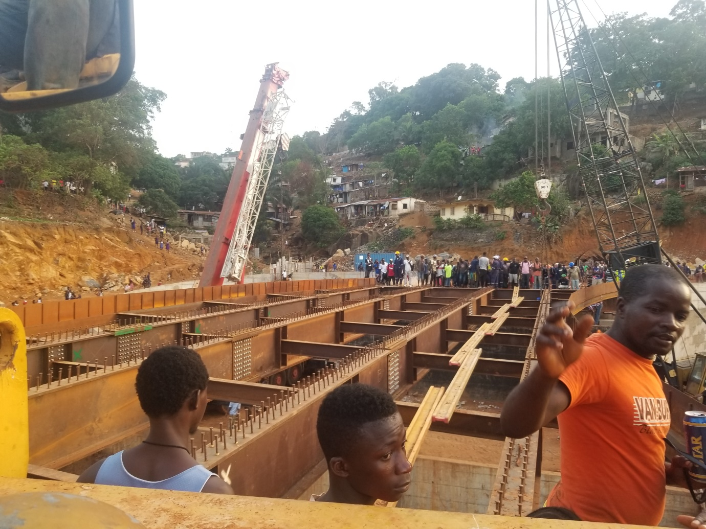 Sierra Leone News Hill Cut Flyover Bridge Nears Completion